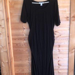 Motherhood Maternity Black Maxi dress